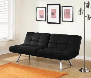 Mainstays Contempo Convertible Futon Sofa