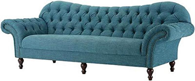 Arden Club Vintage Tufted Sofa