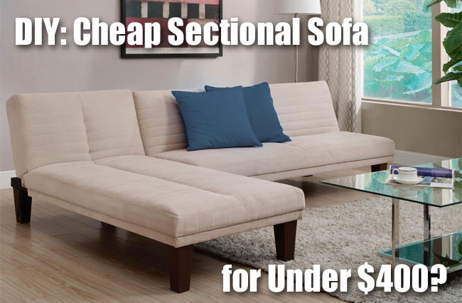 Cheap Sectional Sofa for Under $400