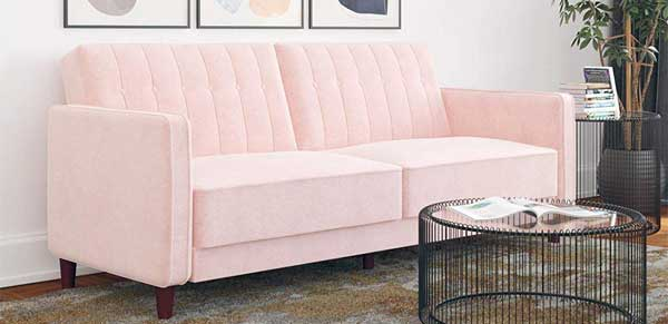 Want A Pink Futon Choose From 4 Unique